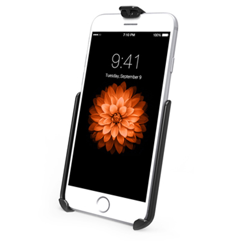 RAM Mounts RAM-HOL-AP18U Model Specific Form-Fitted Cradle for the Apple iPhone 6 & 7 WITHOUT CASE SKIN OR SLEEVE