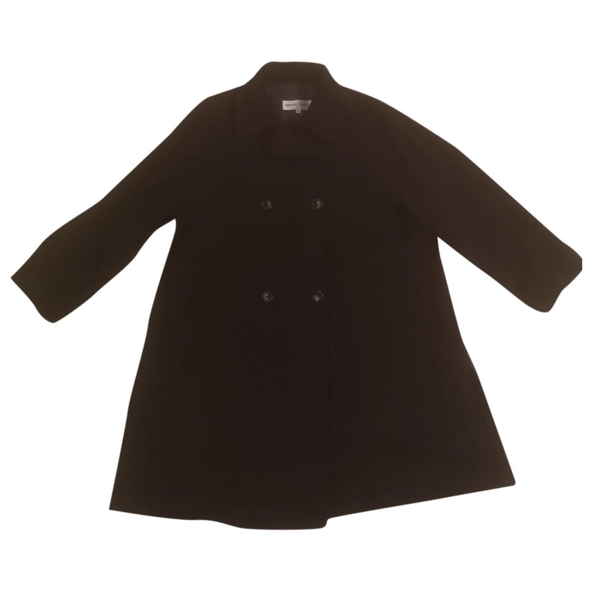 Gerard Darel \N Black Wool coat for Women 38 FR