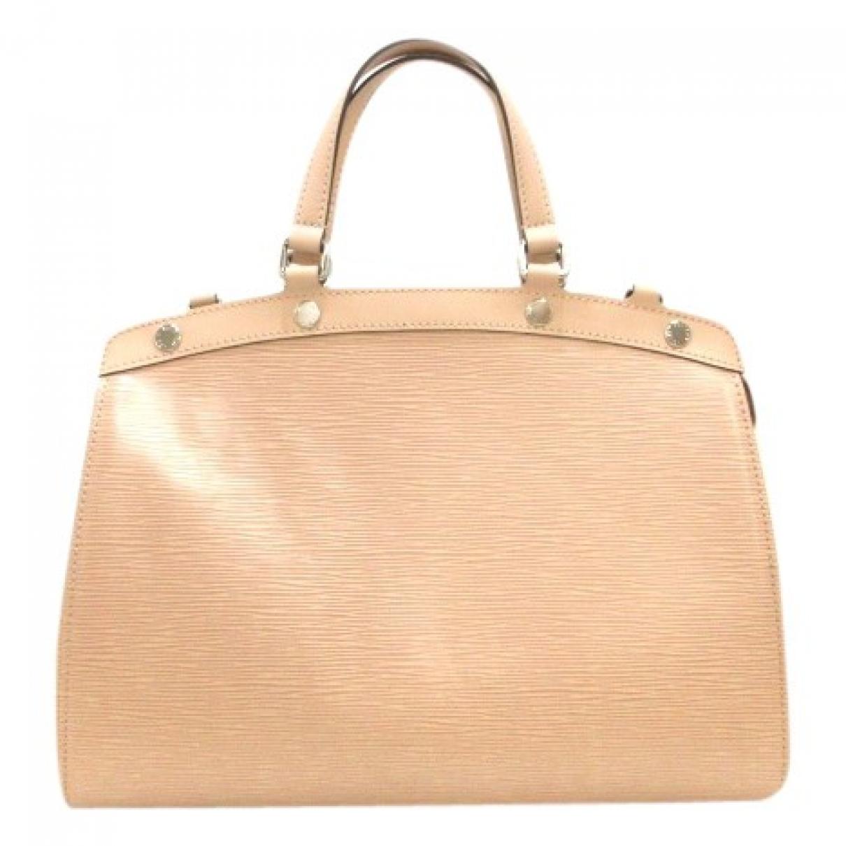 Louis Vuitton Bréa Beige Patent leather handbag for Women \N