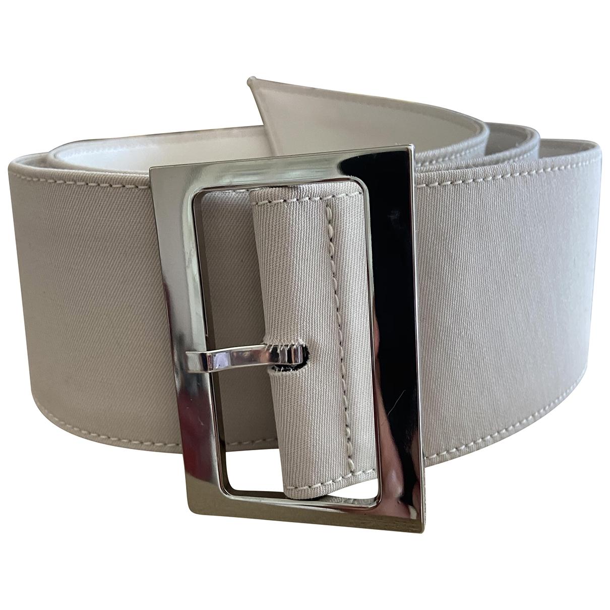 Louis Feraud \N Beige Cloth belt for Women S International