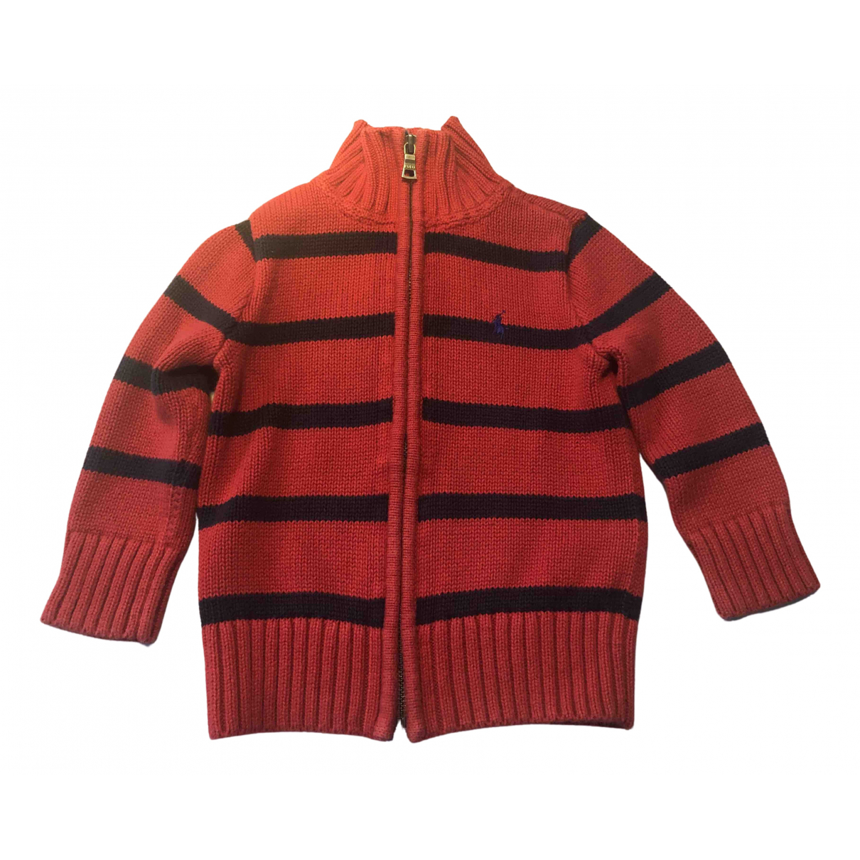 Polo Ralph Lauren \N Red Cotton Knitwear for Kids 2 years - until 34 inches UK