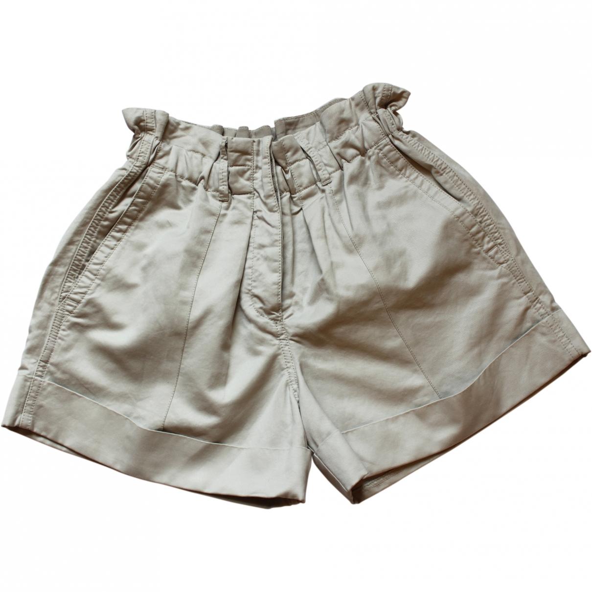 Aspesi \N Beige Cotton Shorts for Women 38 IT