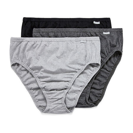 Jockey Plus Elance Queen Knit High Cut Panty 1485, 10 , No Color Family