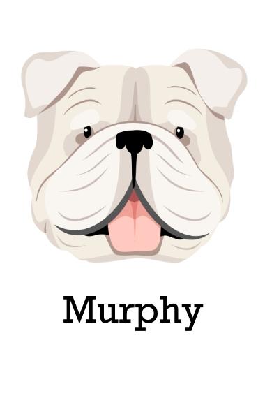 Pet 24x36 Poster , Home Décor -English Bulldog 6