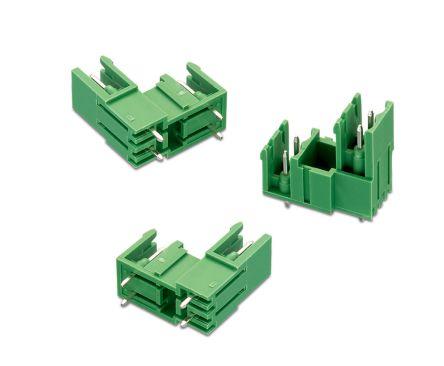 Wurth Elektronik , WR-TBL, 3385, 6 Way, 2 Row, Vertical PCB Header (75)