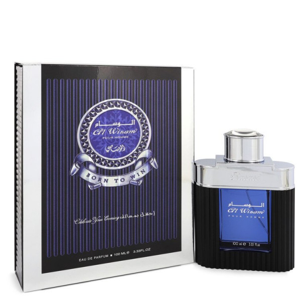 Rasasi - Al Wisam Evening : Eau de Parfum Spray 3.4 Oz / 100 ml