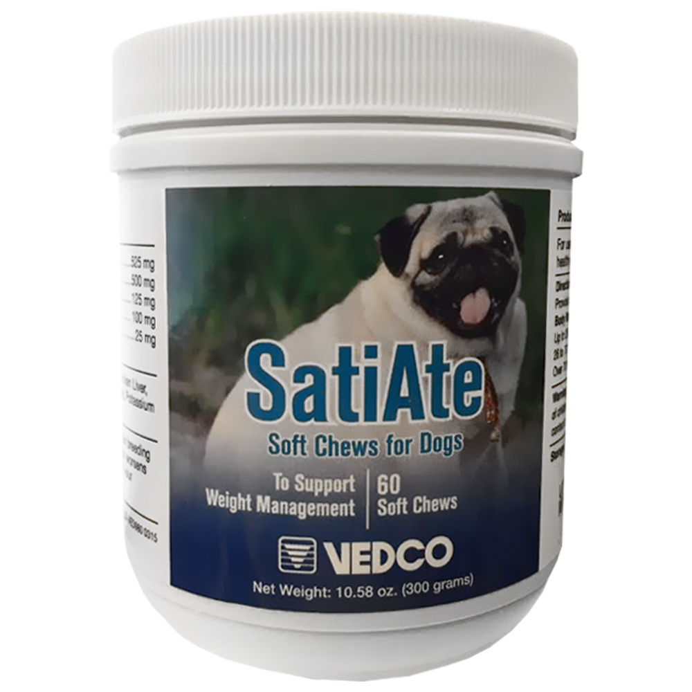 Vedco SatiAte Soft Chews for Dogs (60 count)