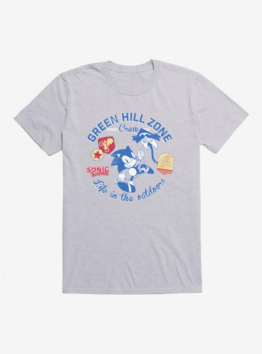 Sonic The Hedgehog Sonic Green Hill Zone Crew T-Shirt