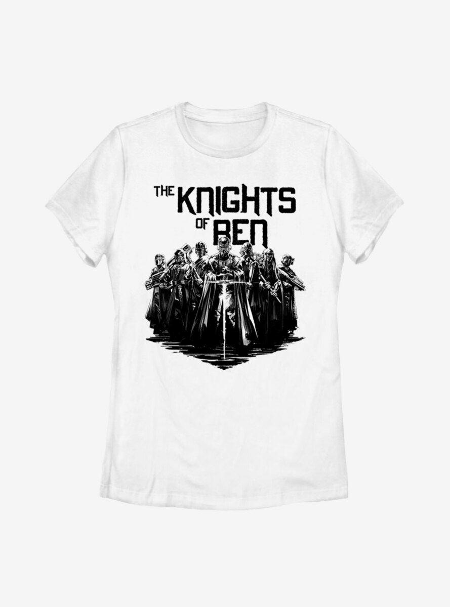 Star Wars Episode IX The Rise Of Skywalker Inked Knights Womens T-Shirt