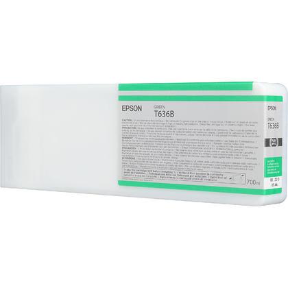 Epson T636B00 700ml cartouche d'encre originale verte haute capacité