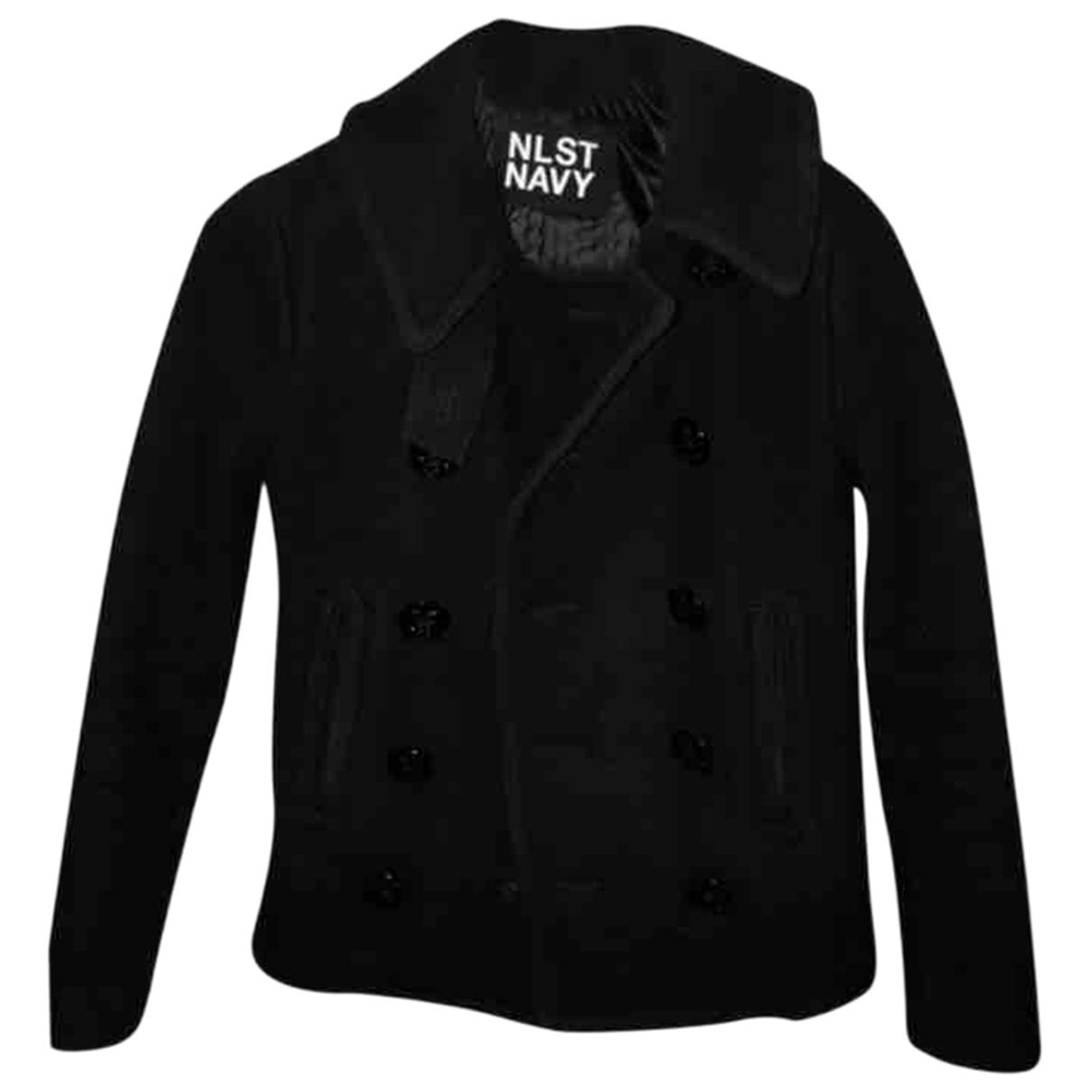 Nlst \N Navy Wool jacket for Women 34 FR