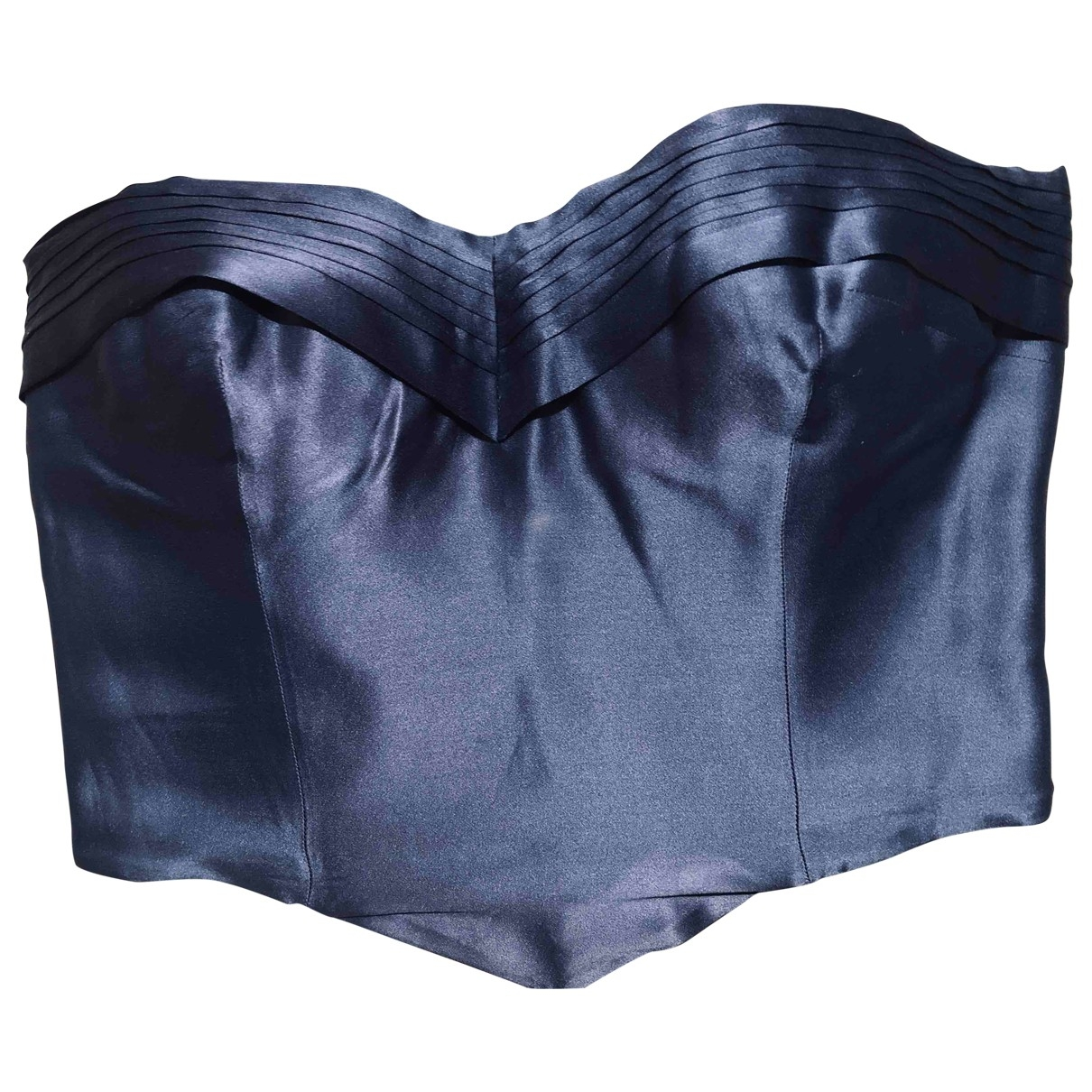 Giorgio Armani \N Blue Silk  top for Women M International