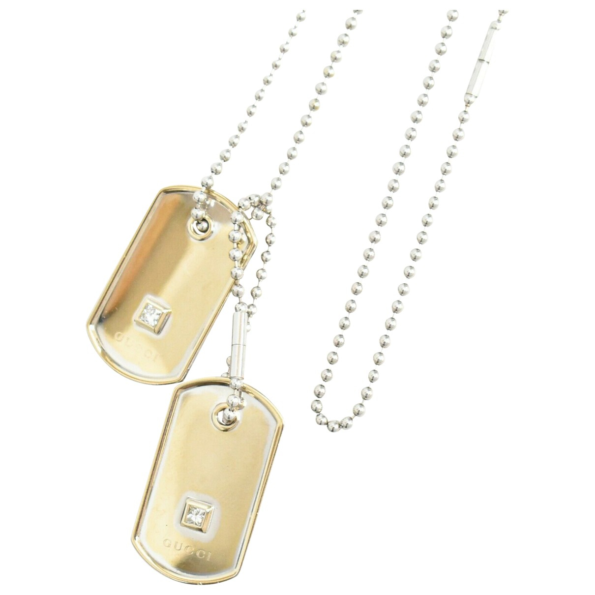 Gucci \N Yellow Metal necklace for Women \N