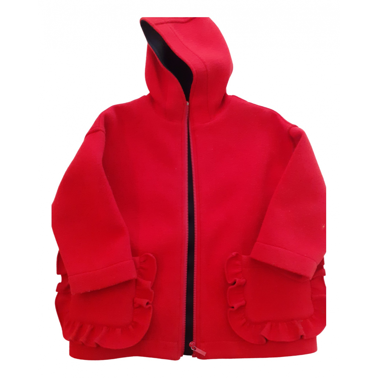 Simonetta \N Red Wool jacket & coat for Kids 6 years - up to 114cm FR