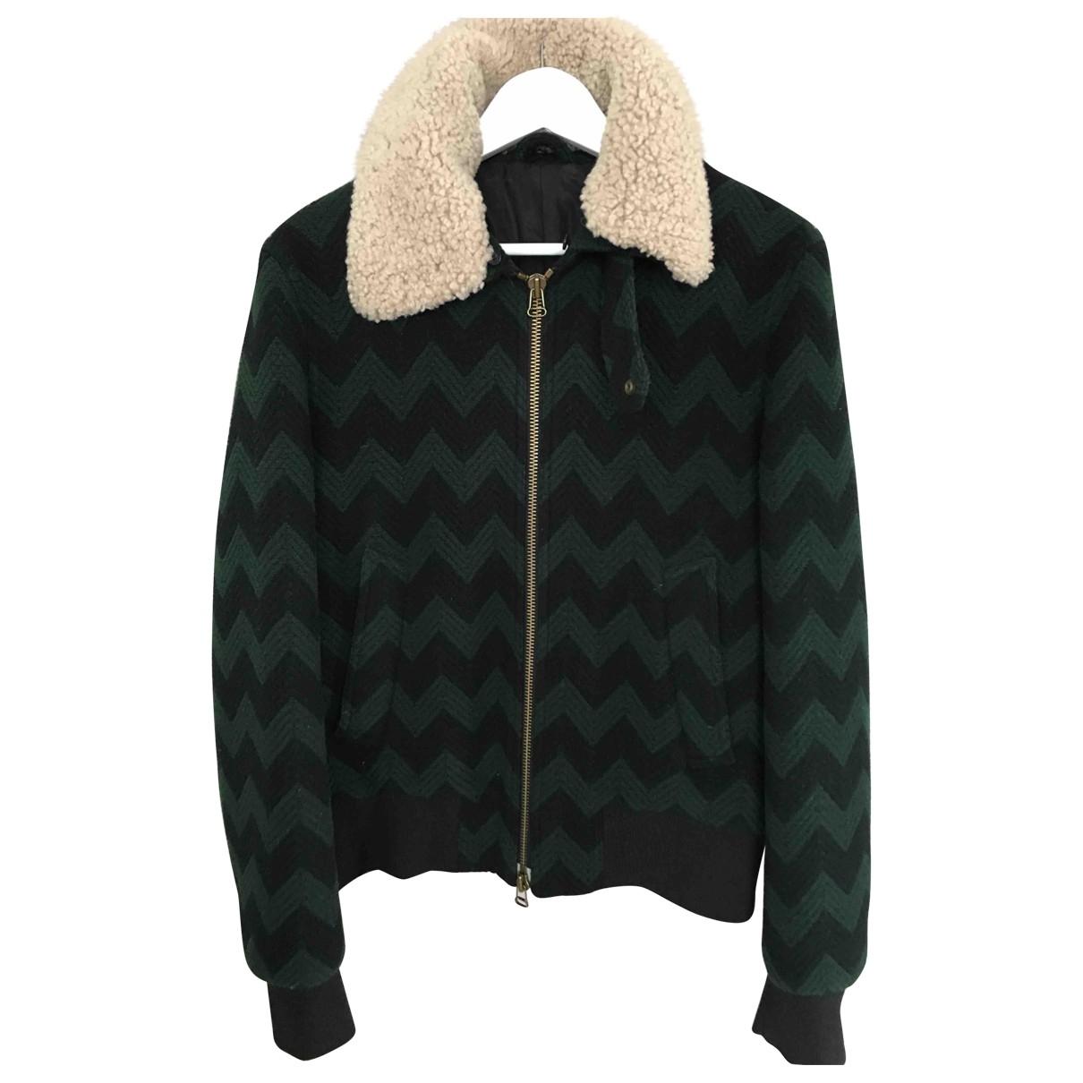 Ami \N Green Wool jacket  for Men M International