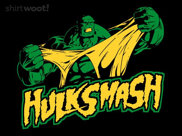 Hulk Smash T Shirt