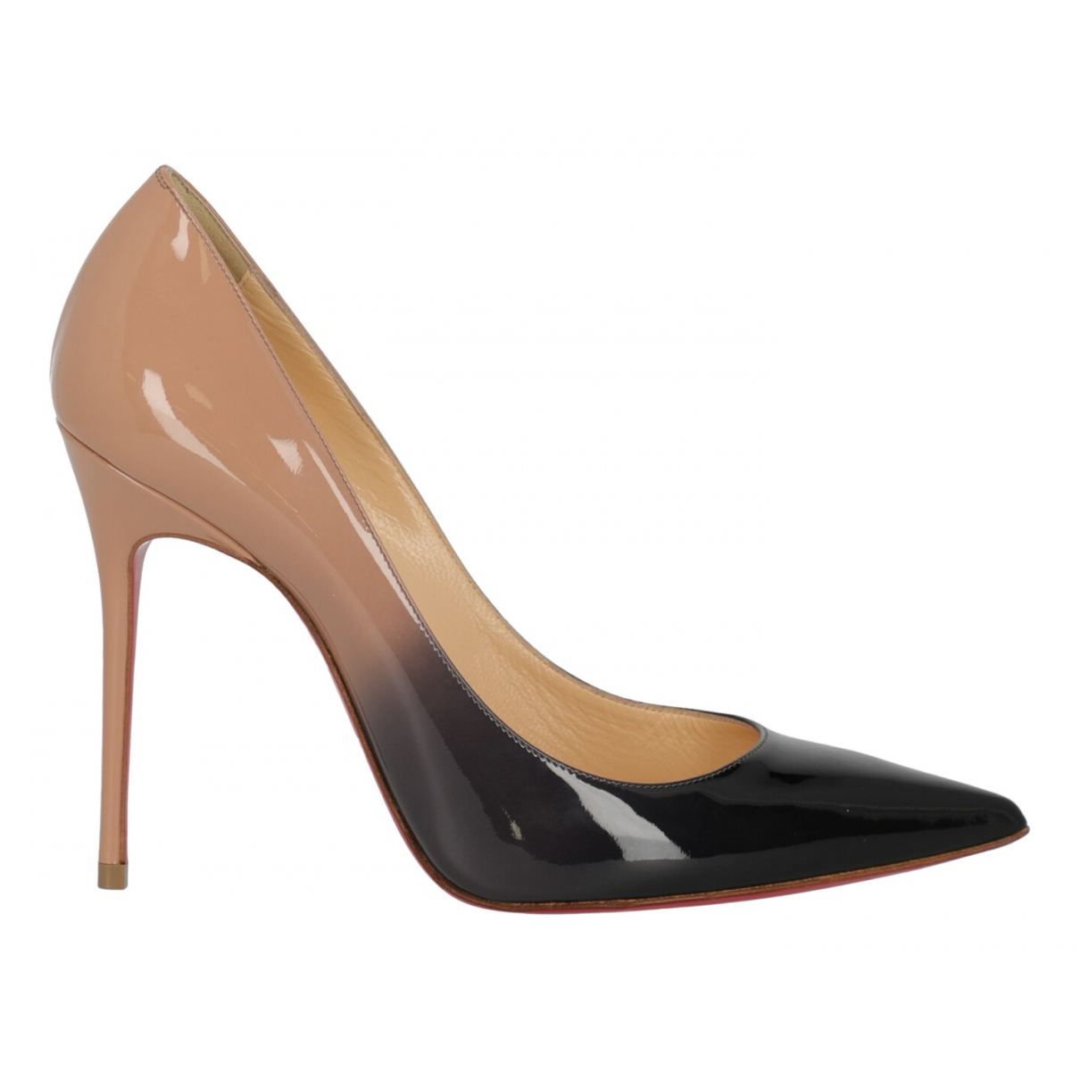 Christian Louboutin \N Multicolour Patent leather Heels for Women 37 IT