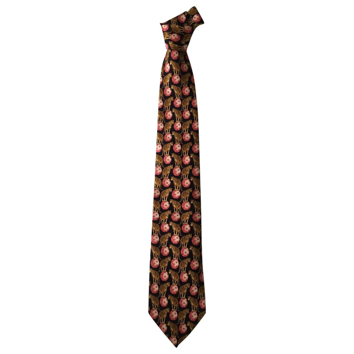Gucci \N Pink Silk Ties for Men \N