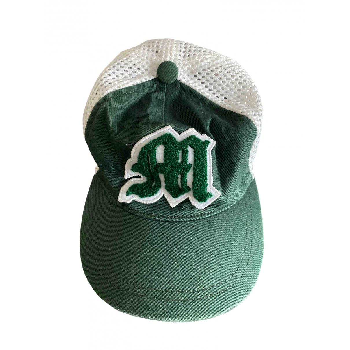 Moncler \N Green Cotton hat & Gloves for Kids \N