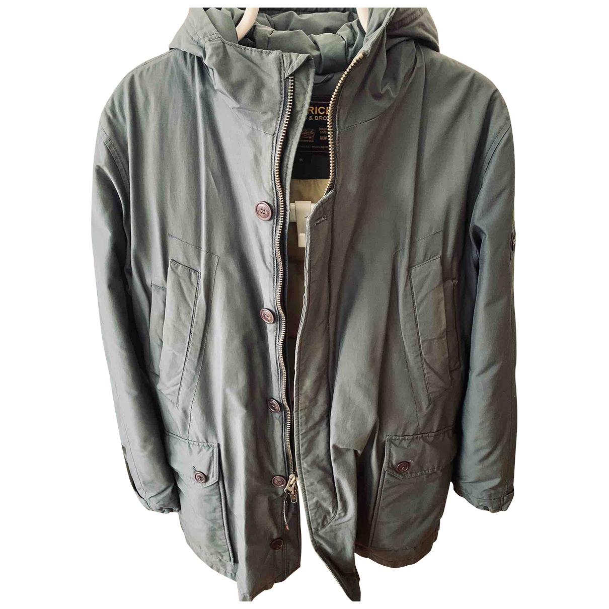 Woolrich \N Blue Cotton jacket  for Men M International