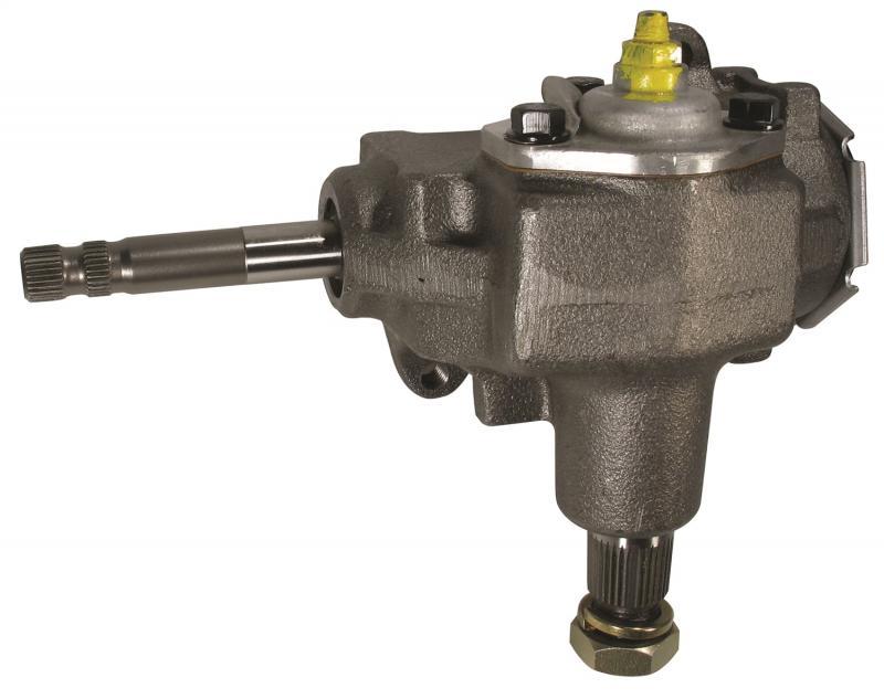 Borgeson 920040 Steering Box; Manual; OEM Saginaw 525 Series; Quick Ratio; New