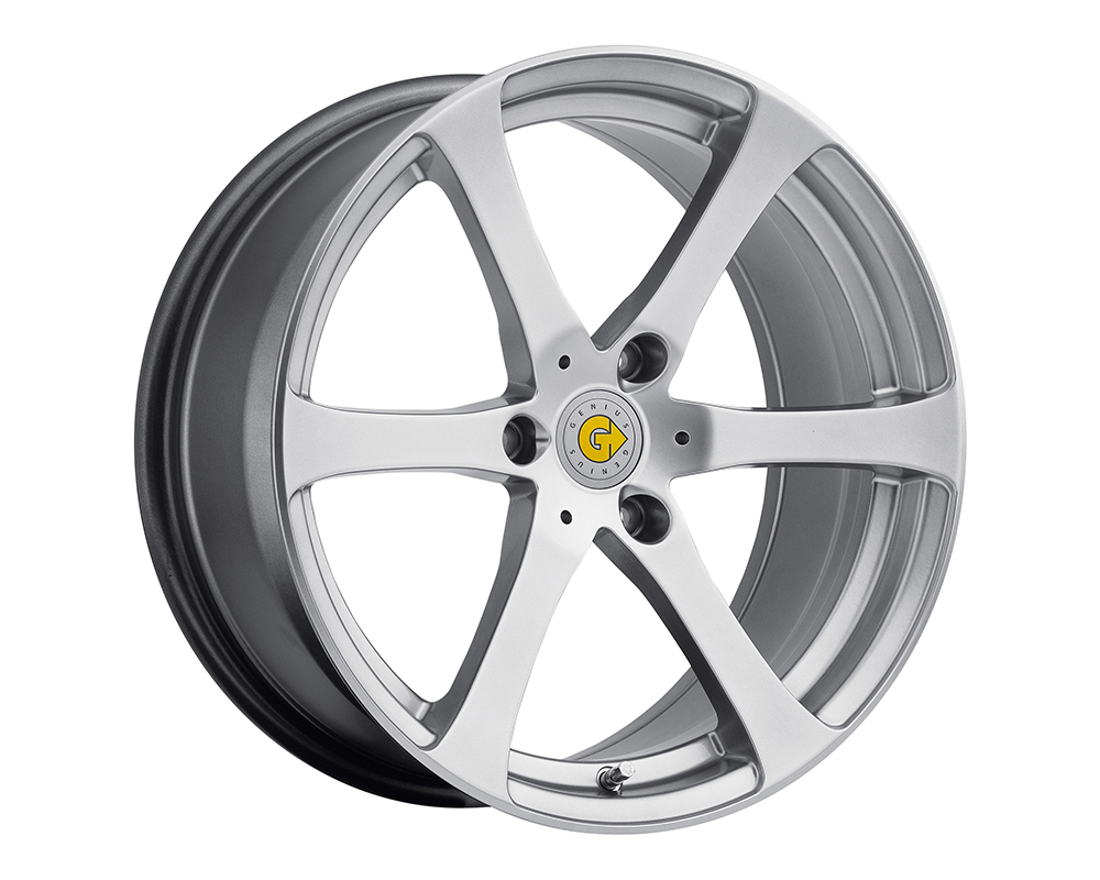 Genius Newton Wheel 15x5.5 3x112 25mm Hyper Silver