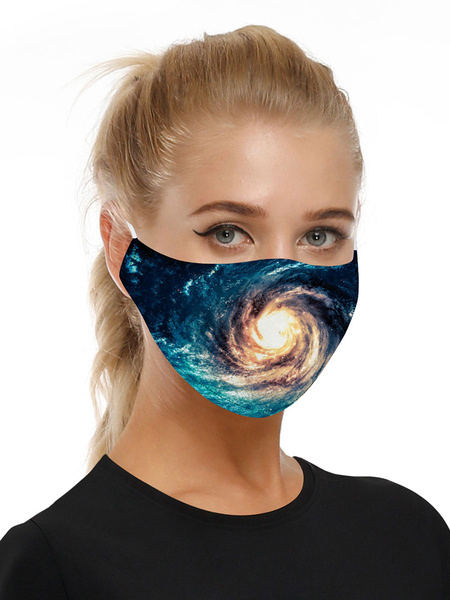 Milanoo Costume Accessories Covering Universe Print