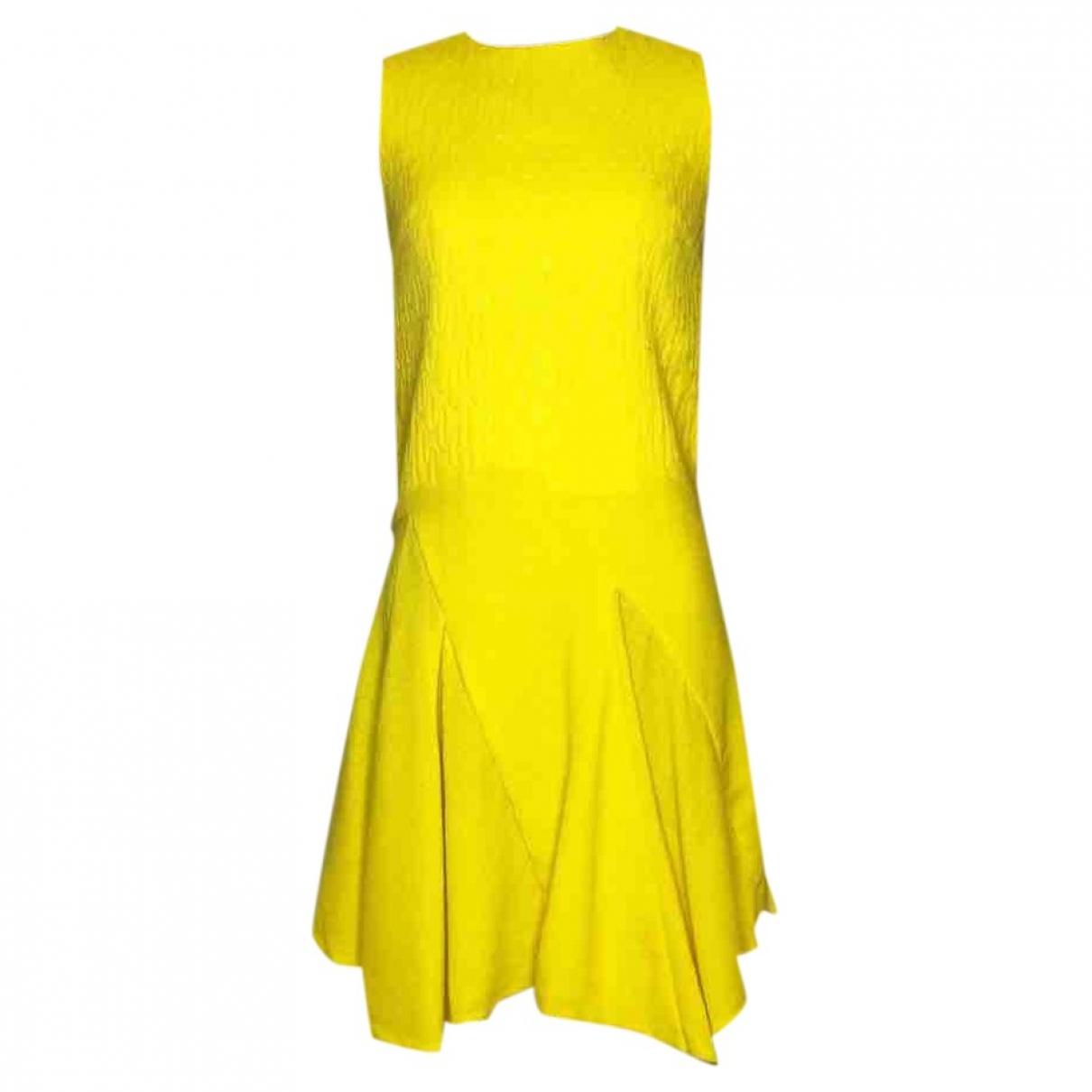 Dior \N Yellow Wool dress for Women 34 FR