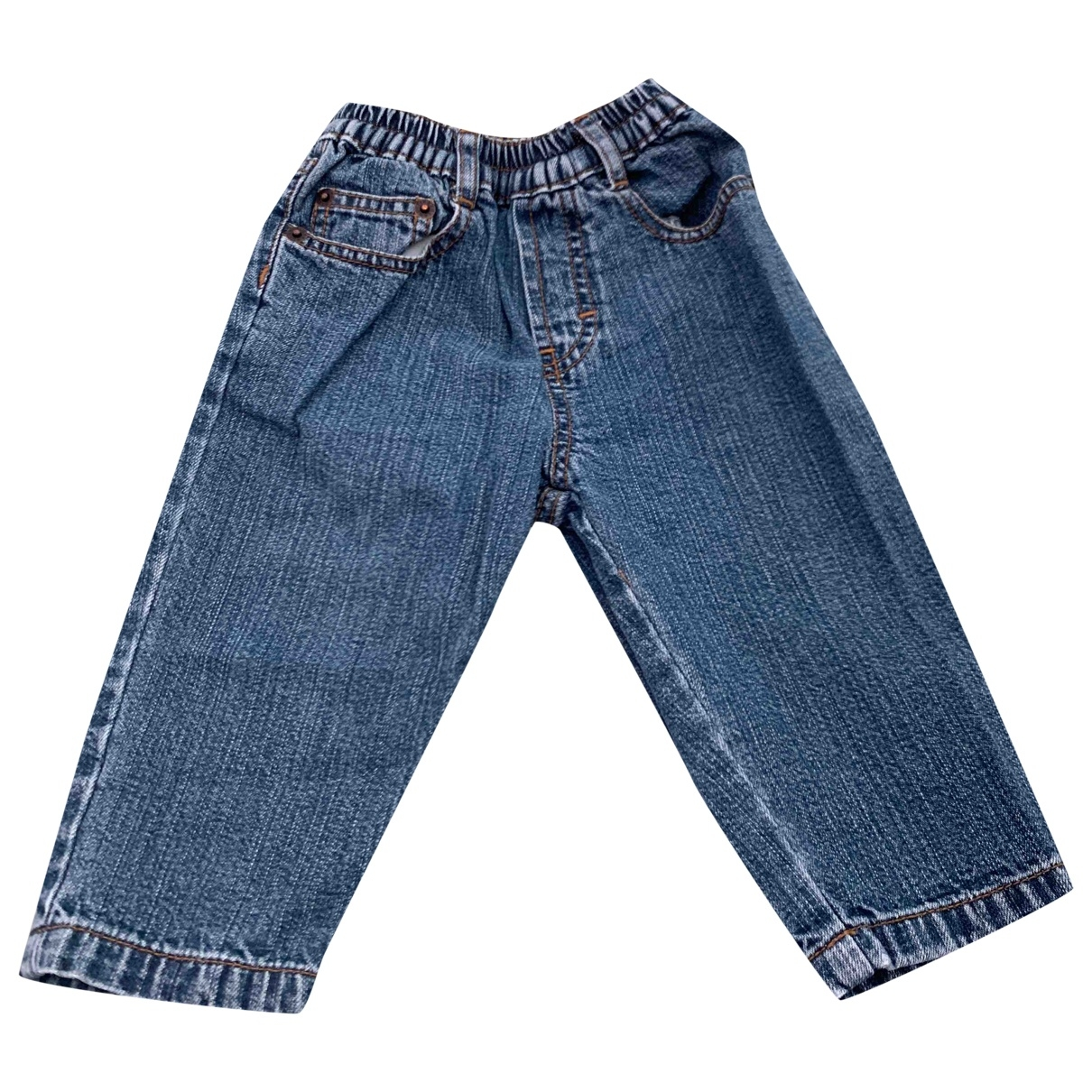 Timberland \N Blue Denim - Jeans Trousers for Kids 9 months - up to 71cm FR
