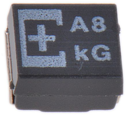 Panasonic Tantalum Capacitor 100μF 8V dc Polymer Solid ±20% Tolerance , POSCAP TPE (2)