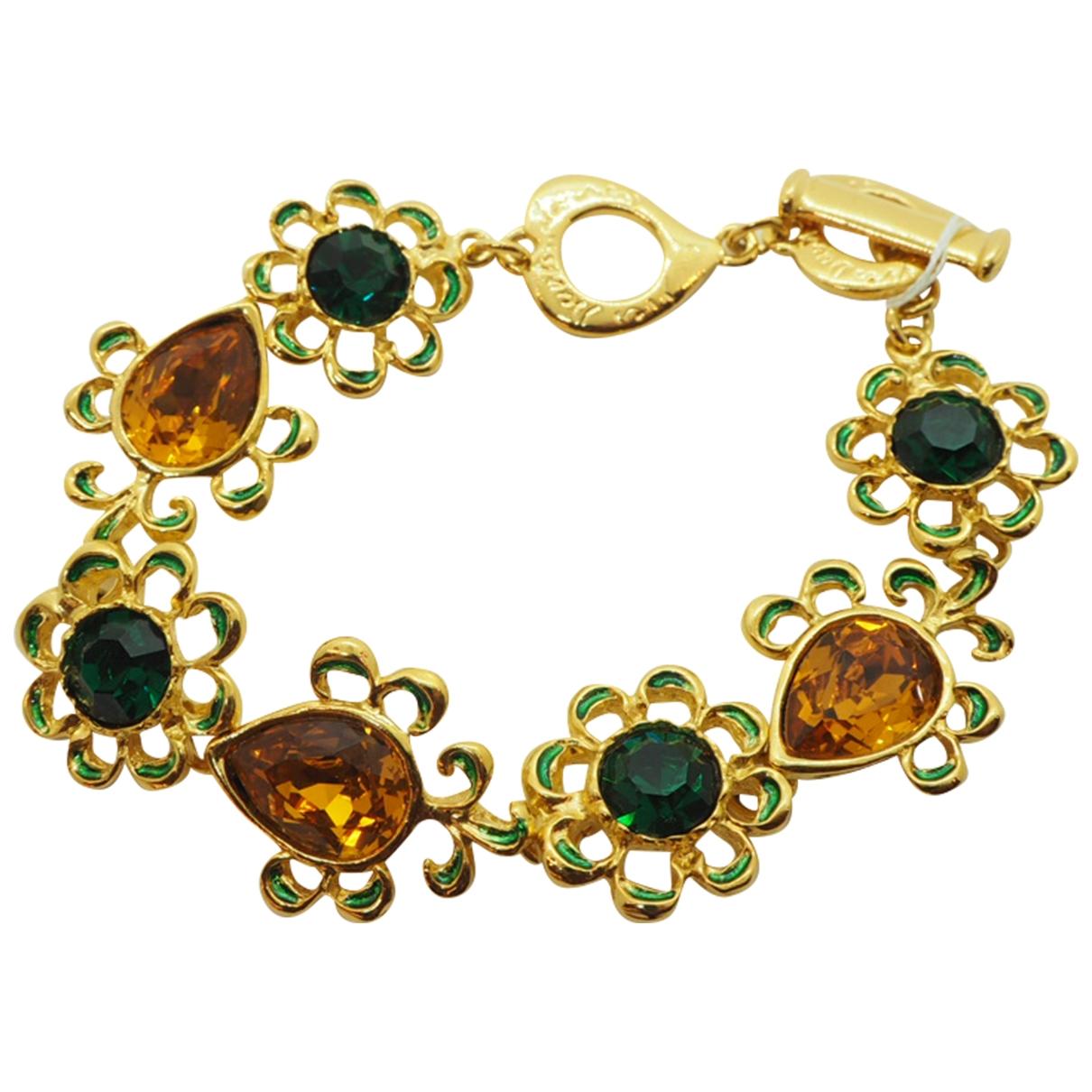 Yves Saint Laurent \N Gold Gold plated bracelet for Women \N