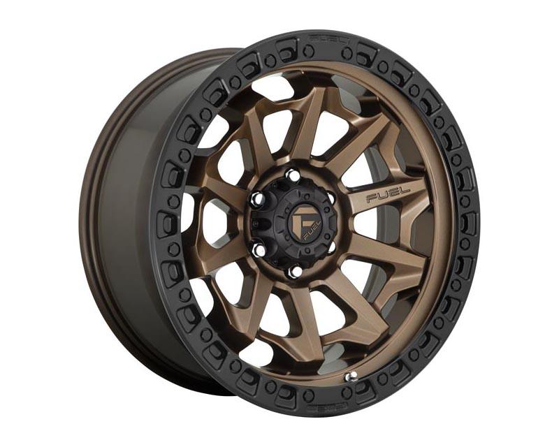 Fuel D696 Covert Wheel 20x9 6X135 20mm Matte Bronze Black Bead Ring