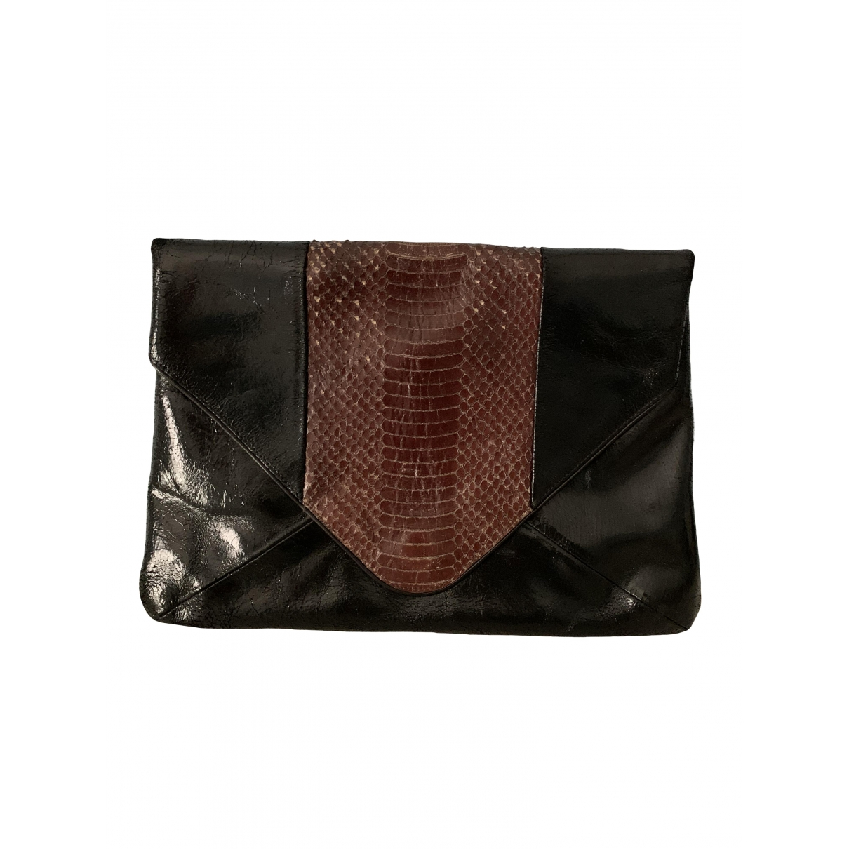 Dries Van Noten \N Black Leather Clutch bag for Women \N