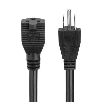 Câble rallonge électrique 16AWG, SJT 16 / 3C 13A / 125V - 10ft - PrimeCables®