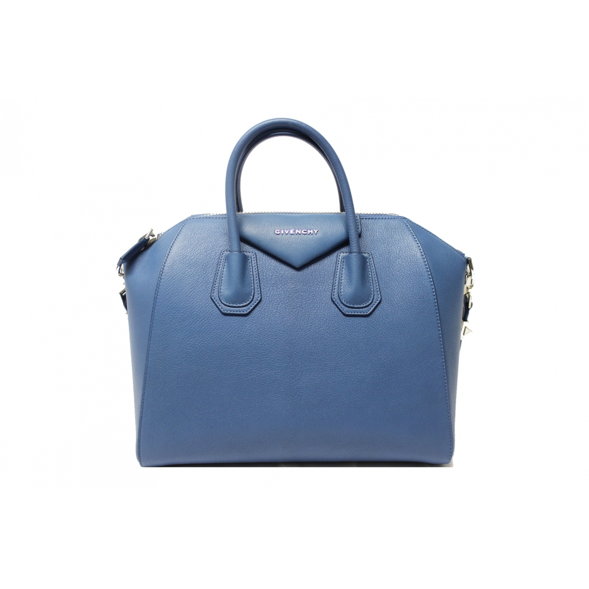 Givenchy Antigona Blue Leather handbag for Women \N
