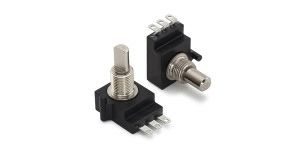 CTS Linear Plastic Potentiometer with an 6 mm Dia. Shaft - 10kΩ, ±10%, 0.25W Power Rating, Linear, Bushing Mount
