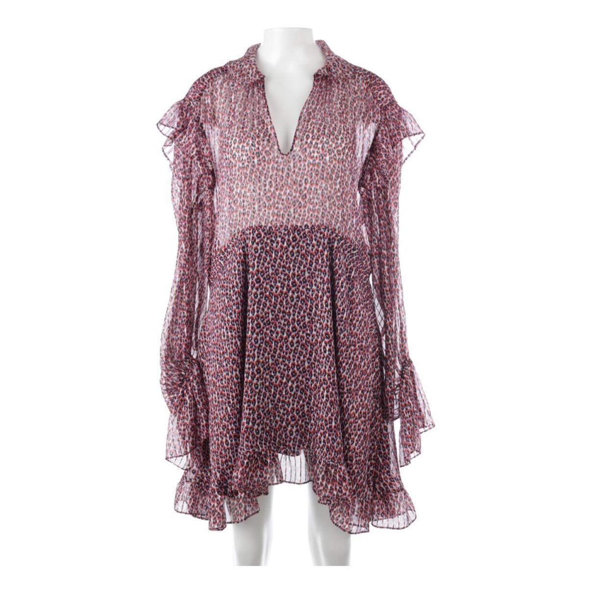 Philosophy Di Lorenzo Serafini \N Red Silk dress for Women 38 FR