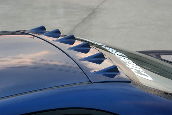 ChargeSpeed CS595RFC Carbon Roof Fin Mazda 6 03-08