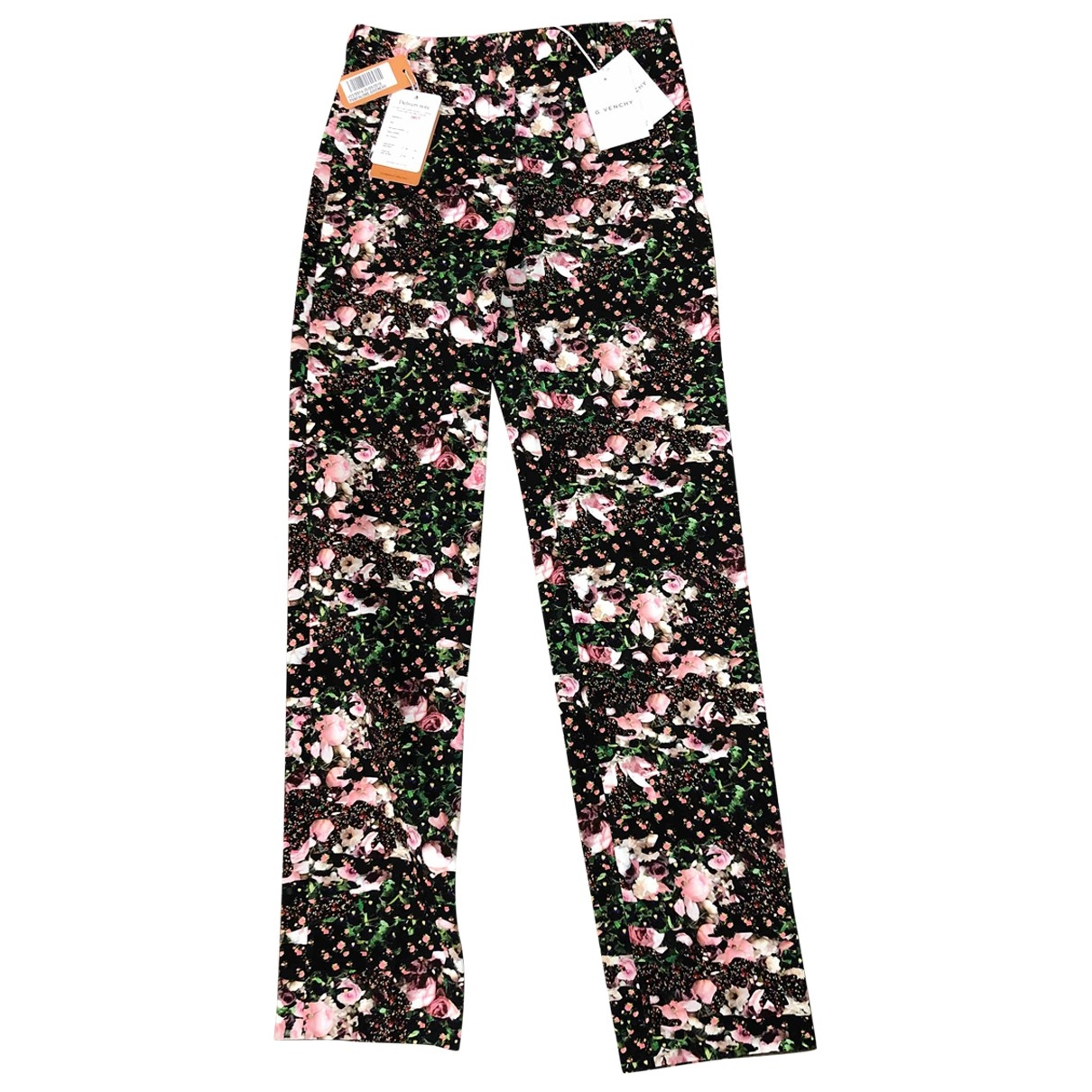 Givenchy \N Multicolour Cloth Trousers for Women 36 FR