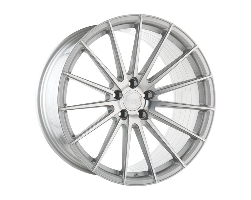 Avant Garde M615-GSM888208515 M615 Silver Machined Wheel 20x8.5 BLANK 15mm