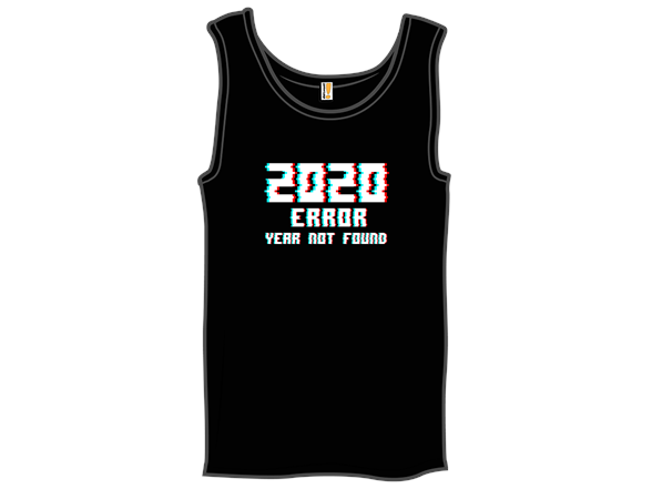 Error: Year Not Found T Shirt