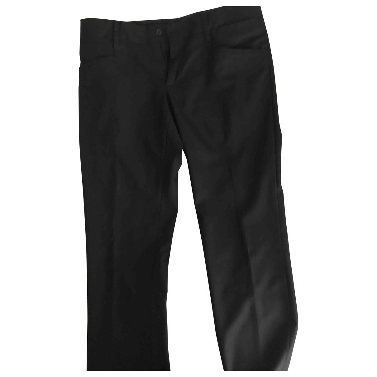 Dolce & Gabbana \N Black Trousers for Men M International