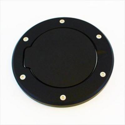 AMI Billet Fuel Door (Black Aluminum) - 6032K