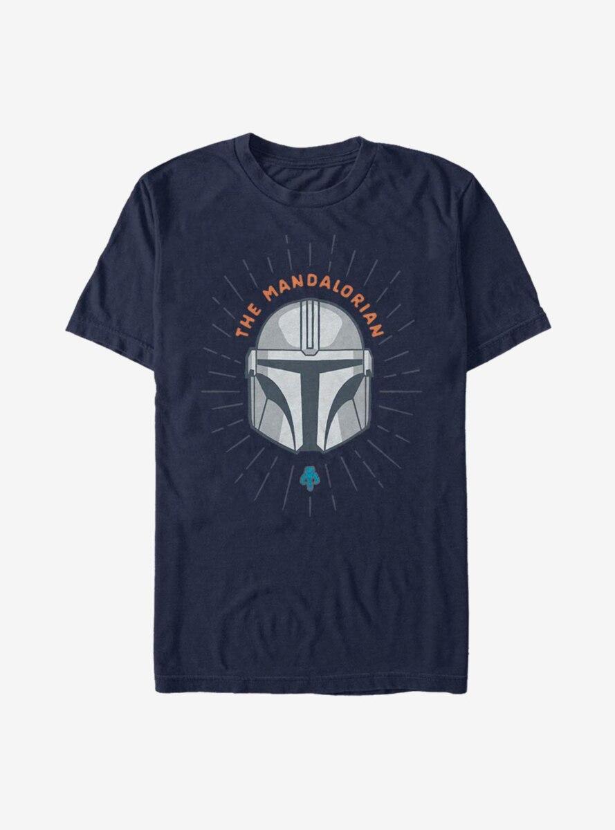 Star Wars The Mandalorian Simple Shield T-Shirt