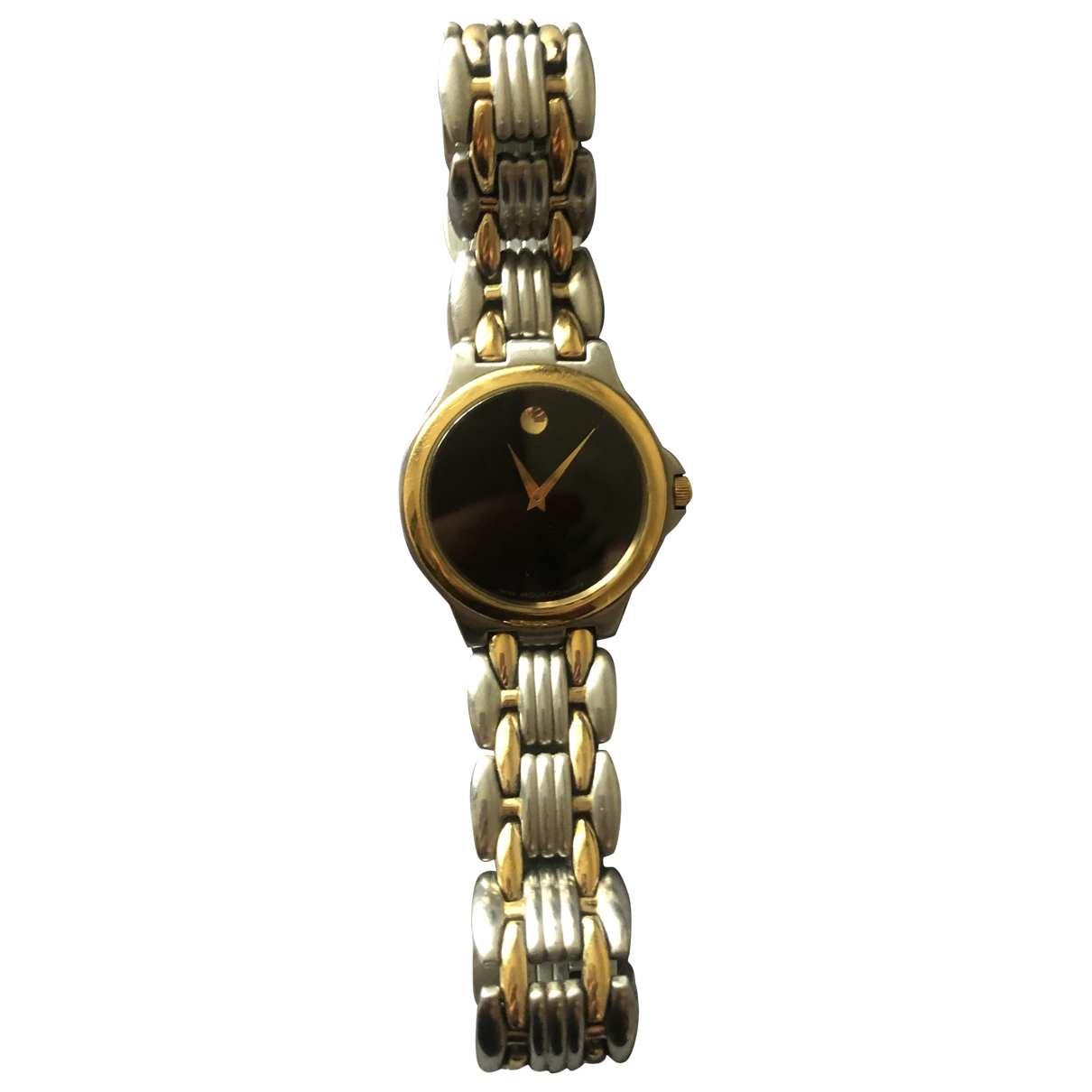 Movado \N Gold Gold plated watch for Men \N