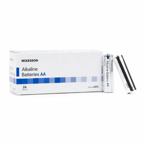 Alkaline Battery McKesson AA Cell 1.5V Disposable 24 Pack - 24 Count by McKesson
