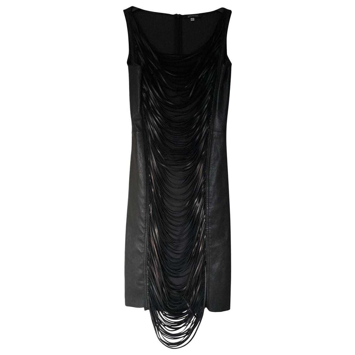 Jitrois \N Black Leather dress for Women 40 FR