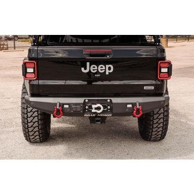 Road Armor Stealth Rear Winch Bumper (Black) - 5203R0B