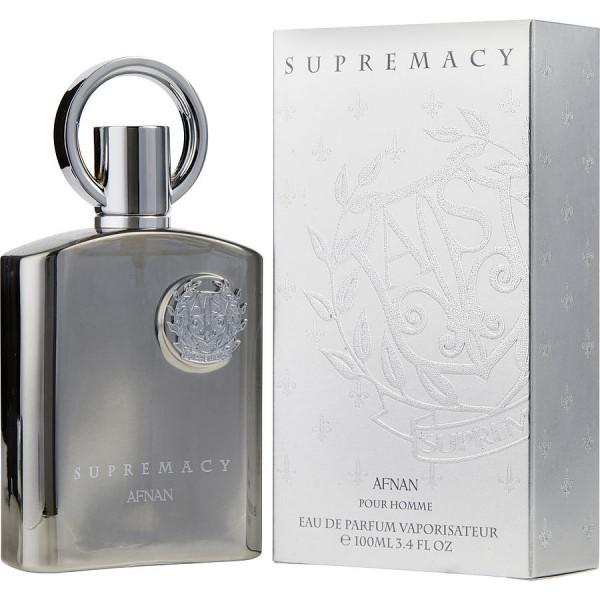 Afnan - Supremacy Silver : Eau de Parfum Spray 3.4 Oz / 100 ml