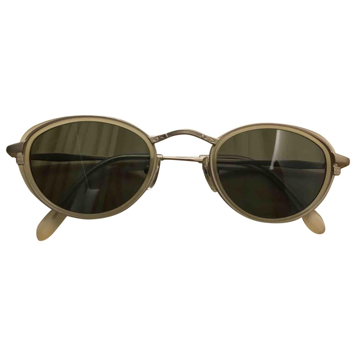Calvin Klein \N Yellow Sunglasses for Women \N